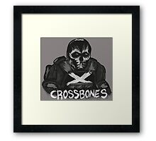 Crossbones Framed Print