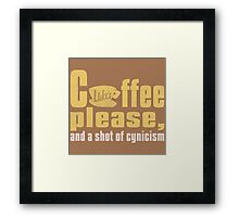 Gilmore Girls Coffee Framed Print