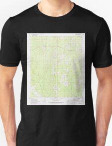 USGS TOPO Map Arkansas AR Farmville 258443 1973 24000 Unisex T-Shirt