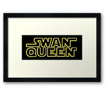 MAY THE SWEN BE WITH YOU Framed Print