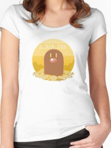 """""""I Dig You"""" Women's Fitted Scoop T-Shirt"""