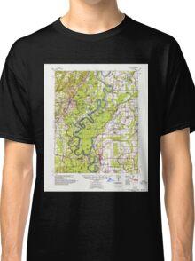 USGS TOPO Map Arkansas AR Augusta 259982 1957 62500 Classic T-Shirt
