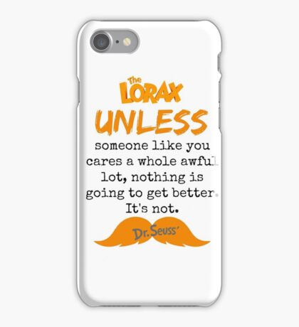 Unless - Some One Like You iPhone Case/Skin