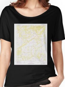 USGS TOPO Map Arkansas AR Bee Branch 257955 1961 24000 Women's Relaxed Fit T-Shirt
