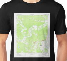 USGS TOPO Map Arkansas AR Haskell 258687 1974 24000 Unisex T-Shirt