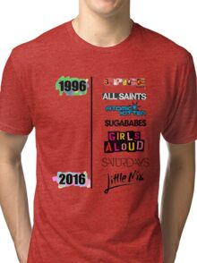 20 years of Girls Bands Tri-blend T-Shirt