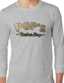 Pop's Barber Shop (Luke Cage) Long Sleeve T-Shirt