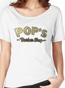 Pop's Barber Shop (Luke Cage) Women's Relaxed Fit T-Shirt