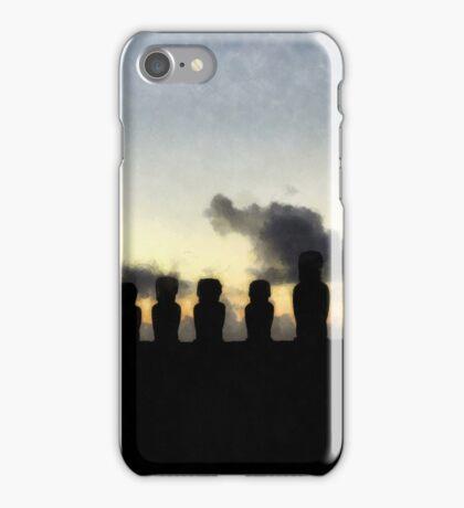 Easter Island iPhone Case/Skin