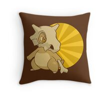 Cubone Throw Pillow