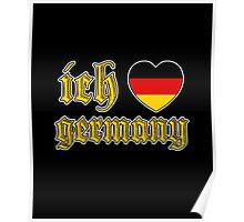 Classic Ich Liebe - I Love Germany Poster