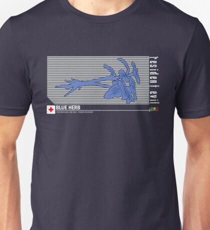 Resident Evil Blue Herb Unisex T-Shirt