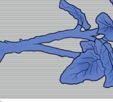 Resident Evil Blue Herb Sticker