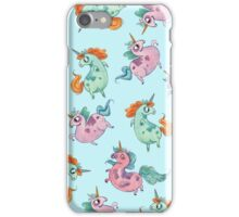 Fat Unicorn Tumble iPhone Case/Skin