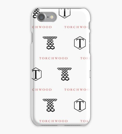 Torchwood Logos iPhone Case/Skin