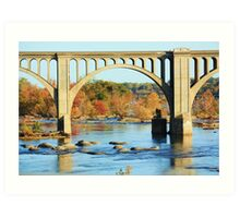 James river scene Art Print