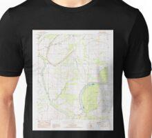 USGS TOPO Map Arkansas AR Brickeys 258061 1984 24000 Unisex T-Shirt