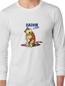 Calvin and Hobbes Hugs  Long Sleeve T-Shirt