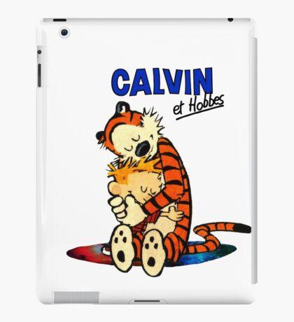 Calvin and Hobbes Hugs  iPad Case/Skin