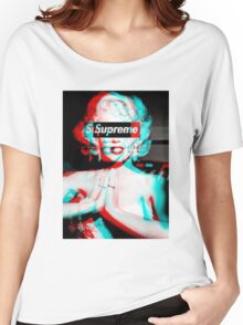 Supreme Marilyn Monroe phone case Women's Relaxed Fit T-Shirt