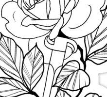 Rose & Dagger - Doug Fawkes Sticker