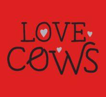 LOVE COWS Baby Tee