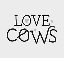 LOVE COWS by jazzydevil