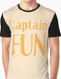 Captain fun Graphic T-Shirt
