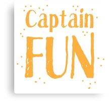 Captain fun Canvas Print