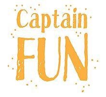 Captain fun Photographic Print