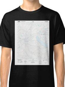 USGS TOPO Map Arkansas AR Star City 20110809 TM Classic T-Shirt