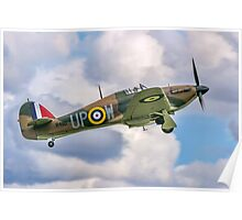 Hawker Hurricane I R4118 G-HUPW Poster