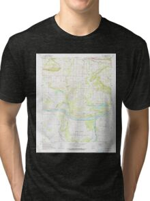 USGS TOPO Map Arkansas AR Holla Bend 258737 1972 24000 Tri-blend T-Shirt
