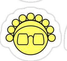 Nana-nana: Black and Yellow Sticker