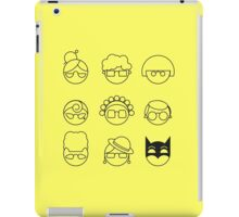 Nana-nana: Black and Yellow iPad Case/Skin