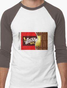 Willy Wonka Golden Ticket Men's Baseball ¾ T-Shirt