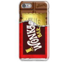 Willy Wonka Golden Ticket iPhone Case/Skin