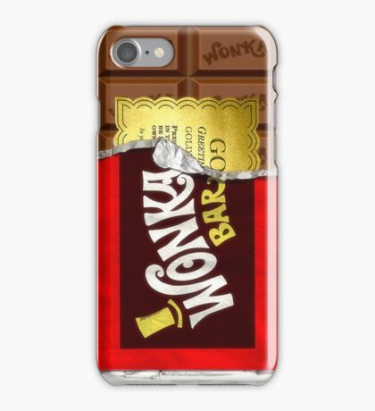 Willy Wonka Golden Ticket iPhone Case/Skin