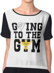 Instinct - Going to the Gym! Chiffon Top