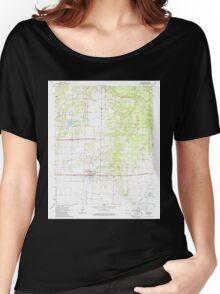 USGS TOPO Map Arkansas AR Hazen 258703 1964 24000 Women's Relaxed Fit T-Shirt