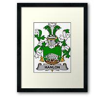 Hanlon Coat of Arms (Irish) Framed Print