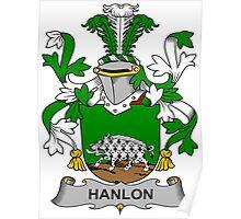 Hanlon Coat of Arms (Irish) Poster