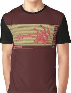 Resident Evil Red Herb Graphic T-Shirt