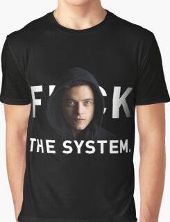 F THE SYSTEM Graphic T-Shirt