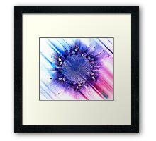 Mandala - Inverse Universe II Framed Print