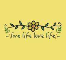 Live Life Love Life Baby Tee