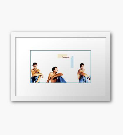 Male Boudoir Framed Print