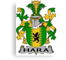Hara Coat of Arms (Irish) Canvas Print