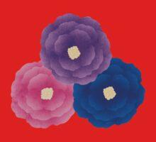 Cute Flowers One Piece - Short Sleeve