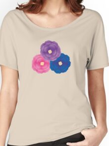 Cute Flowers Women's Relaxed Fit T-Shirt